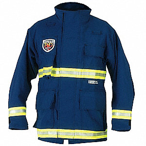 EMS Jacket, Size 2XL, Color: Navy