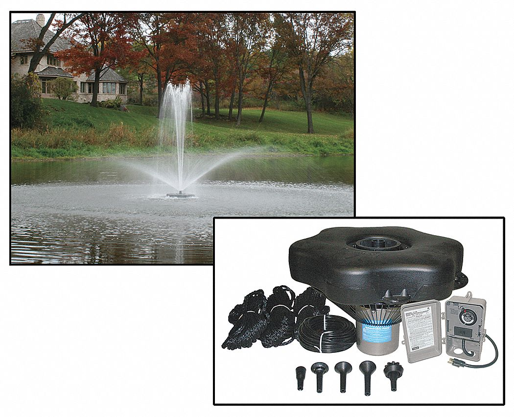 Fountain And Pond Aeration Systems