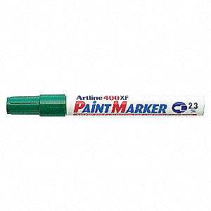 MARKER PAINT MED/POINT GREEN