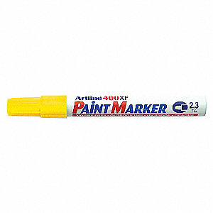 MARKER PAINT MED/POINT YELLOW