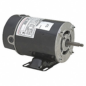 MOTOR,SPLIT PHASE,ODP,1/2 HP,115V