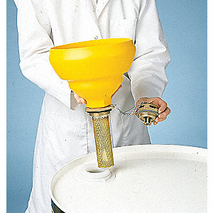 FILL DRUM VENT W 9IN POLYETHYLENE FUNNEL