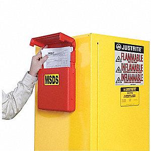 Justrite Boite Rangement Documents Rabattable M Porte Documents Jrt23303 23303 A Grainger Canada
