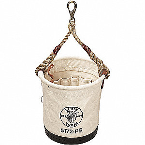 BUCKET CANVAS #4 W/15 INSIDE POCKET