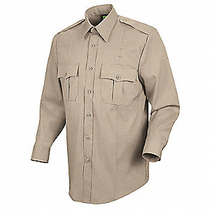 New Dimension Stretch Dress Shirt,L