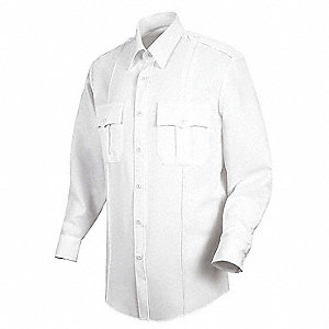 Sentry Shirt, White, Neck 16 In.