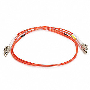 FIBER OPTIC PATCH CABLE, LC/LC, 1M
