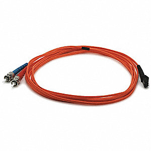 FIBER OPTIC PATCH CABLE,MTRJ(F)/ST,