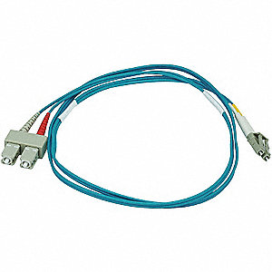 10GB FIBER OPTIC PATCH CABLE, LC/SC