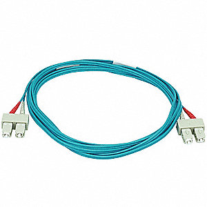 Multi-Mode, Duplex, Fiber Optic Connector Type: SC/SC, 3m Length