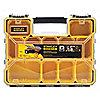 "Caja con Compartimentos, Negro/Amarillo, 4-1/2"" x 17-3/8"", EA1"
