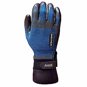 Nitrile Cut Resistant Gloves, ANSI/ISEA Cut Level 3, Kevlar®, Nylon, Spandex®, Stainless Steel Linin