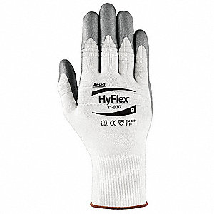 Coated Gloves,Palm and Fingers,7,PR