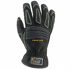 Rescue Gloves,S,Synthetic Leather,PR