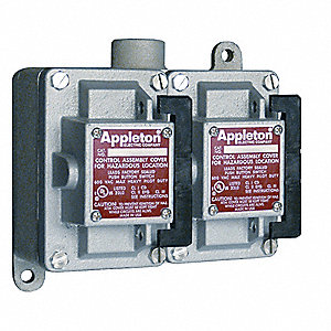 Tumbler Switch,EDS Series,2 Gangs,3-Way