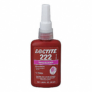 LOCTITE 222 THRDLKR LO-STR/SM SCREW