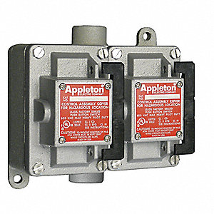 Tumbler Switch,EDSC Series,2 Gangs,3-Way