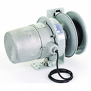 Haz. Location Reel,50 ft,16/3,Gry,600VAC