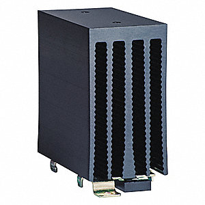 Heat Sink,2.0  Deg C/W DIN Rail Mount