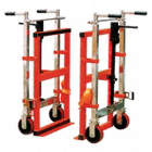 Hydraulic-Lift Machinery & Equipment Movers with Full-Length Nose Plate