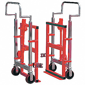 Furniture and Crate Mover, Continuous Frame Flow-Back, 4000 lb. Overall Height 49""