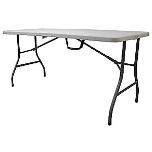 Bifold Table,61 inx29-1/2 inx30 in,White