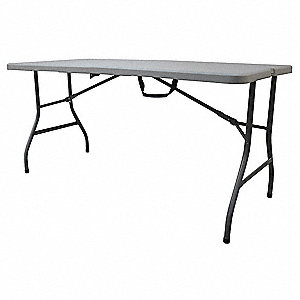 rectangle bifold table 29 height x 61 width