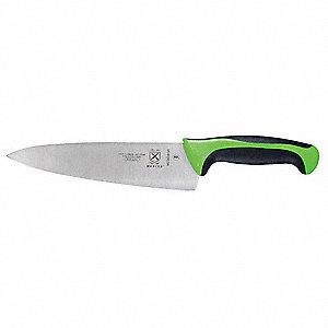 mercer cutlery chefs knife 8 in green handle 13v448 m22608gr grainger. Black Bedroom Furniture Sets. Home Design Ideas