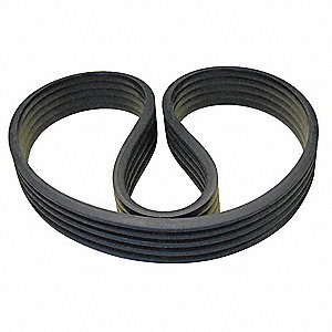 5/D158 Banded V-Belt, Outside Length 164-1/8""