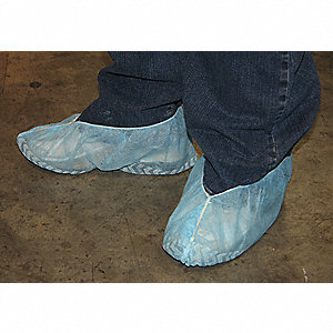 SHOE COVERS,SLIPRESISTSOLE,XL,BLUE,