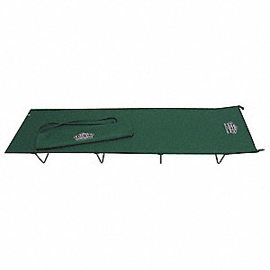 "75"" x 24"" Economy Cot with 250 lb. Weight Capacity&#x3b; Green"