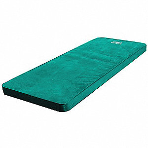 Self-Inflating Pad,Green,350 lb Capacity