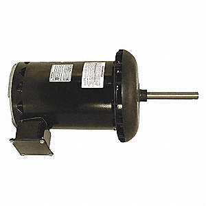 CONDENSER FAN MOTOR,1 HP,1075 RPM