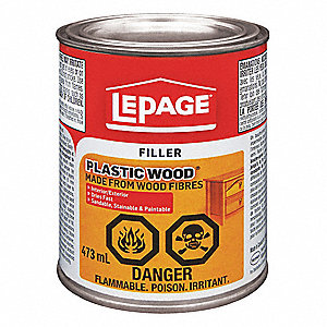 FILLER WOOD PLASTIC 473ML