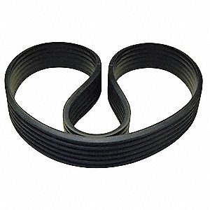 6/3V600 Banded V-Belt, Outside Length 60-5/8""
