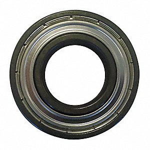 Radial Ball Bearing, Shielded Bearing Type, 30mm Bore Dia., 62mm Outside Dia.