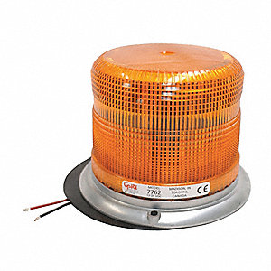 Low Profile Strobe Light,Amber,Flashing