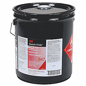ADHESIVE RUBBER 847 5 GAL