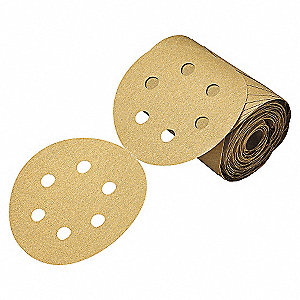 Paper Disc Roll,6in.dia.,P100,PK4