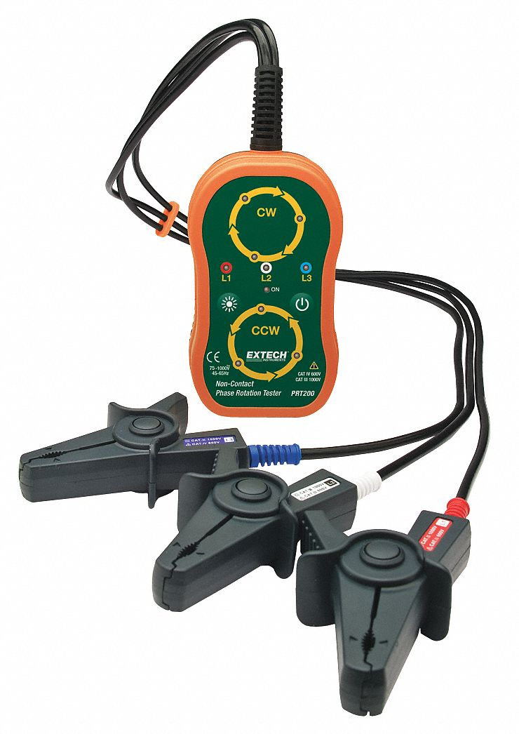Phasing And Motor Rotation Meters