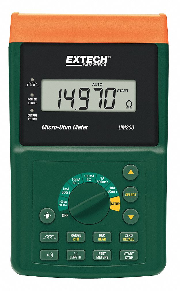 Milli/micro Ohm Meters