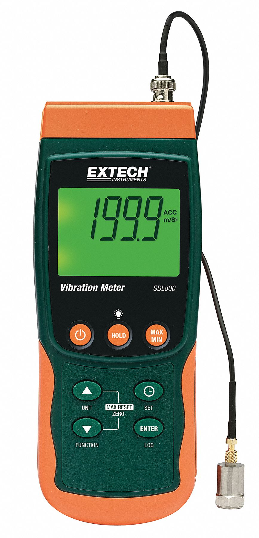 Vibration Meter with Displacement