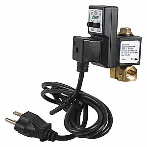 Speedaire 1 2 Quot Npt 100 120v Brass Timed Electric Auto