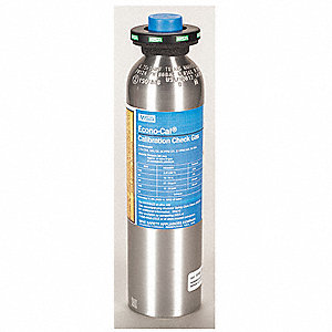 CYLINDER 2.5P CH4,15P O2,60CO/20H2S