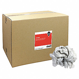 CLOTH RAG,RCYCLD COTTN SWEATS,50 LB