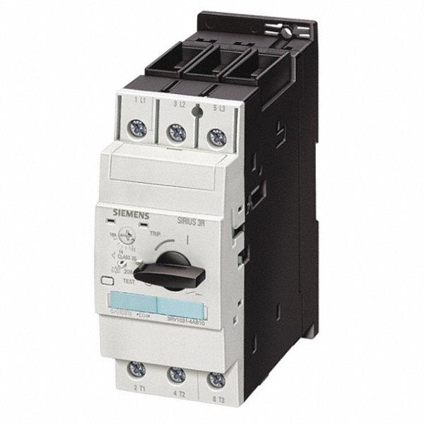 Siemens rotary knob manual motor starter no enclosure 36 for Siemens electric motors catalog