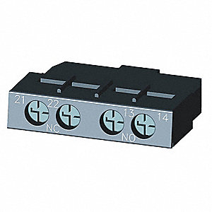 Transverse Auxiliary Contact Block, 1 C/O Contact Configuration, Solid State Type