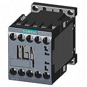 240VAC IEC Magnetic Contactor; No. of Poles 3, Reversing: No, 9 Full Load Amps-Inductive