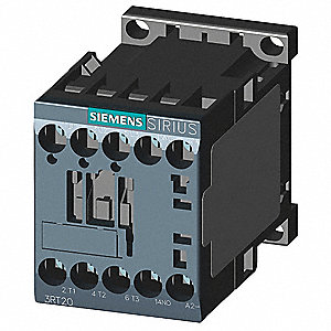 IEC Magnetic Contactor, 24VDC Coil Volts, 12 Full Load Amps-Inductive, 1NO Auxiliary Contact Form