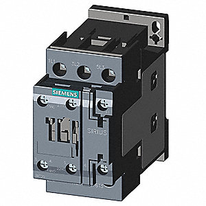 24VAC IEC Magnetic Contactor; No. of Poles 3, Reversing: No, 32 Full Load Amps-Inductive